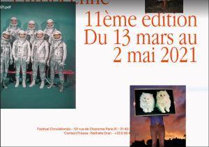» Circulation(S) 11me édition  au 104  13/03/ au 02/05/2021
