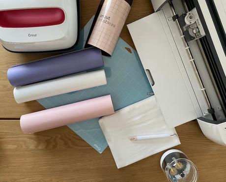 matériel nécessaire transfert textile trousse cosmétique