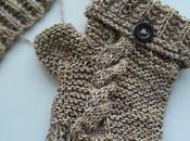 Tricoter mitaines avec pouce pour adulte