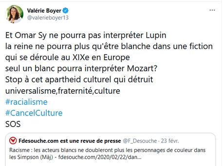 Valérie Boyer, députée LR, vulgaire troll de la fachosphère #racisme
