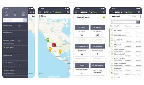 Luxul ProWatch : l'application de supervision du réseau pour les intégrateurs