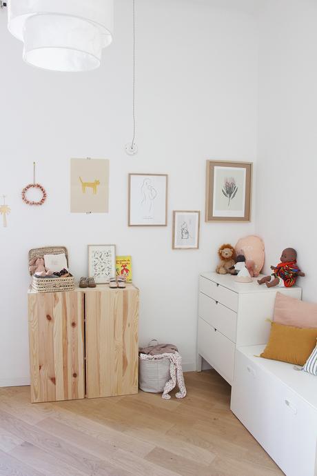 chambre de bébé déco murale