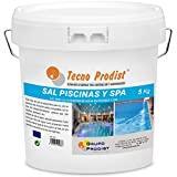 Tecno Prodist Sel Piscines Sel spécial pour la chloration saline de piscines, SPA ou Jacuzzis - En seau de 5 kg Facile à appliquer