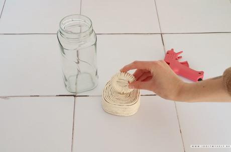 DIY – Bocaux corde