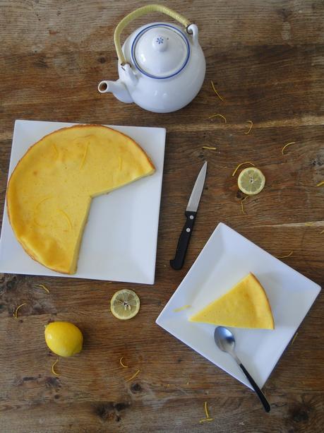 Flan au citron extra