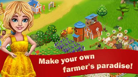 Télécharger Sunny Farm : le Jeu d'Aventure et de Ferme APK MOD (Astuce) 1