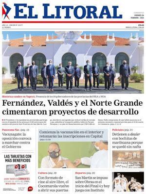 Au retour du Mexique, crochet présidentiel par Yapeyú: hommage à San Martín [Actu]