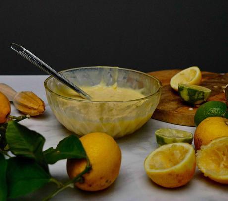 Carrés crémeux aux 2 citrons