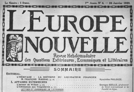 Le Paris des Années 1920.. – Jean Luchaire