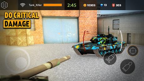 Télécharger Iron Tank Assault : Frontline Breaching Storm APK MOD (Astuce) screenshots 3