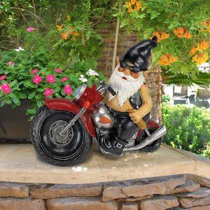 Nain de jardin motard Toscano
