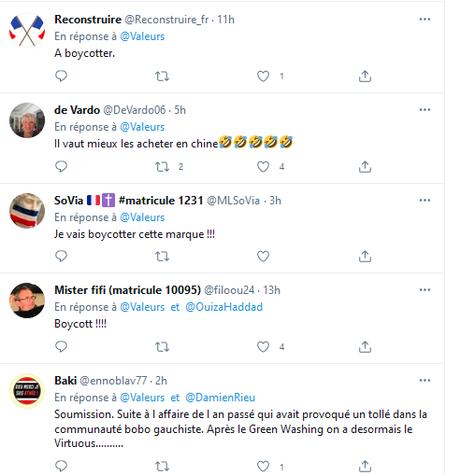 le Slip français, énième cible d'une peste brune qui se répand un peu trop impunément…  #racisme #xénophobie  #NOHaters