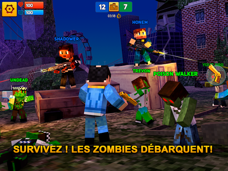 Télécharger Gratuit Block City Wars: Pixel Shooter with Battle Royale APK MOD (Astuce) screenshots 4
