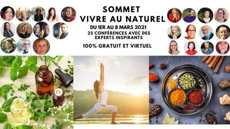 Le Sommet Vivre au Naturel commence demain !
