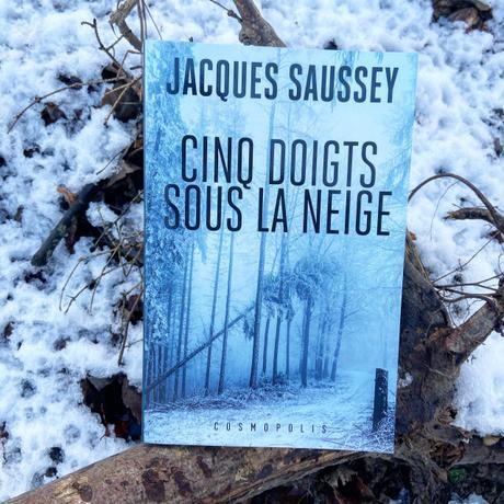 J'ai lu: Cinq doigts sous la neige de Jacques Saussey [Cold Winter Challenge]