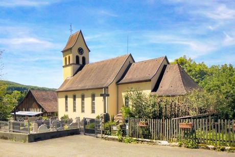 L'église Saint-Michel de Bierderthal © Rauenstein - licence [CC BY-SA 3.0] from Wikimedia Commons