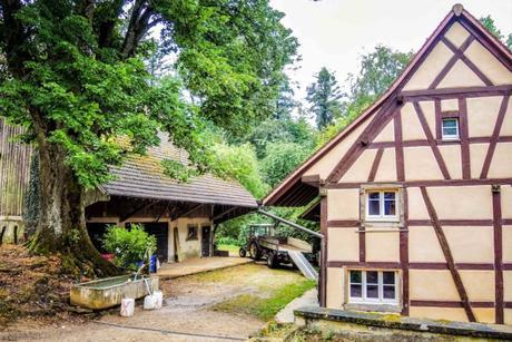 Le hameau de Saint-Brice à Oltingue - licence [CC BY-SA 4.0] from Wikimedia Commons