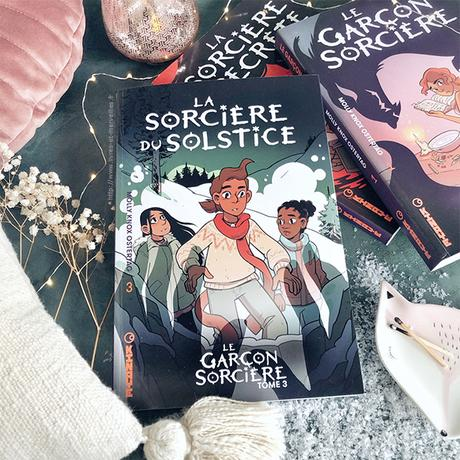 ❄️ Bd jeunesse : La sorcière du solstice ❄️
