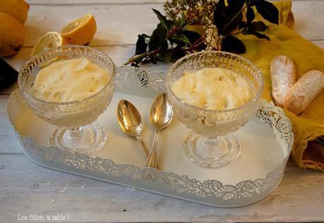 Tiramisu au citron et limoncello