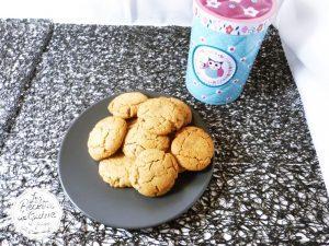 Recette de Cookies moelleux au beurre de cacahuètes