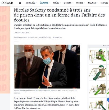 #Sarkozy : ya une justice !