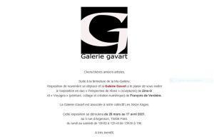 Galerie Gavart  expositions prochaines Marie Le Coq  6 Mars au 26 Mars 2021