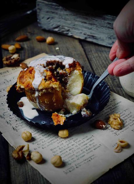 fruits secs , pommes cuites , recettes faciles