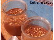 Petites crèmes rapides chocolat ricotta