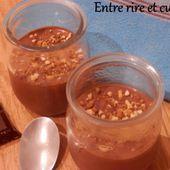 Petites crèmes rapides au chocolat et ricotta