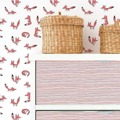 Adhésifs muraux : le papier peint réinventé