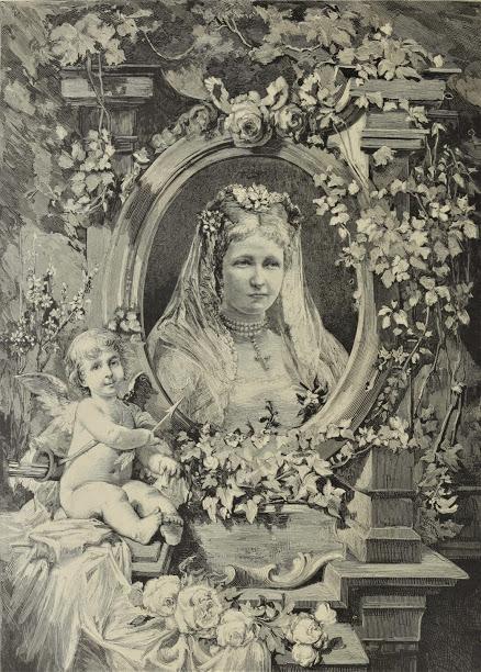 Vive la mariée ! Portrait de la princesse Stéphanie de Belgique  en jeune mariée