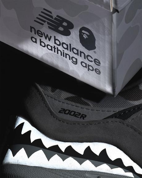 BAPE et New Balance teasent leur première collaboration