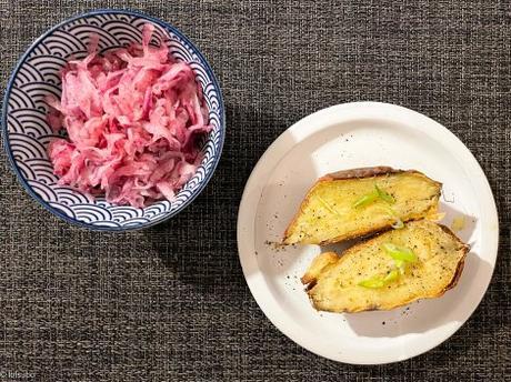 Gourmandise japonaise – Patate douce rôtie (Yaki Imo)
