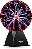 20cm boule de plasma magique, boule lumineuse de Theefun boule électrostatique tactile sensible boule de foudre, clignotant jouet éducatif physique flash lampe à plasma sphère effets de lumière