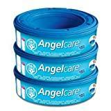 Angelcare - Recharges Originales pour Poubelle à Couches Angelcare Classic et Mini - Lot de 3
