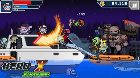 Télécharger Gratuit HERO-X: ZOMBIES!  APK MOD (Astuce) 3