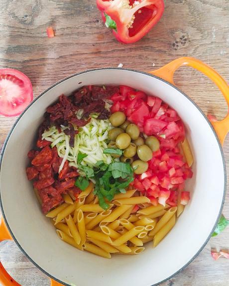 One pot pasta chorizo et sa sauce à tomber