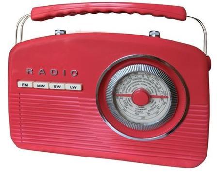 Переносной радио приемник Camry CR 1130 (FM MW SW LW) красный (нажмите, что бы увеличить фото)