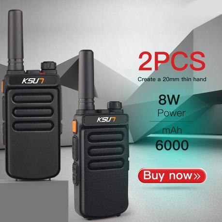 Cheap 2 PCS Talkie Walkie Scanner UHF Walkie Talkie 10KM Two Way Ham Radio Station Radio Comunicador Walkie-talkie