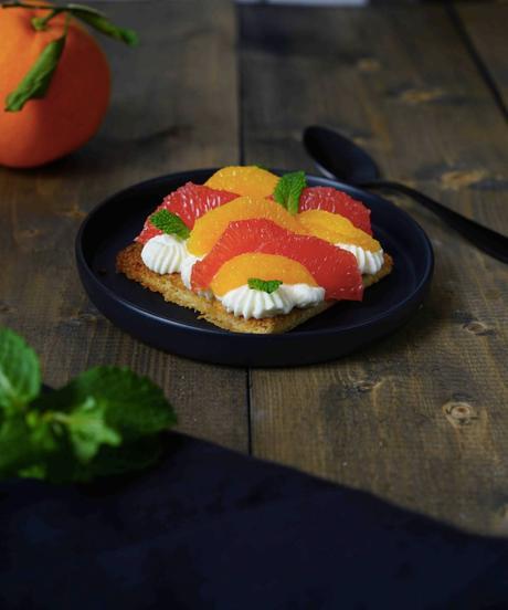 dessert facile , dessert rapide , sablé breton , agrumes , CAP cuisine , atelier des chefs