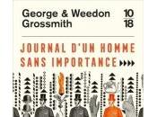 Journal d'un Homme sans Importance George Weedon Grossmith