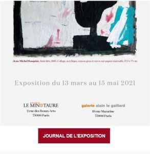Galeries Le Minotaure et Alain Le Gaillard  » Galerie de portraits  » à partir du 13 Mars 2021