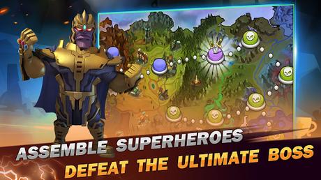 Code Triche Superhero Wars: Epic Idle RPG - Legend Battle  APK MOD (Astuce) 5