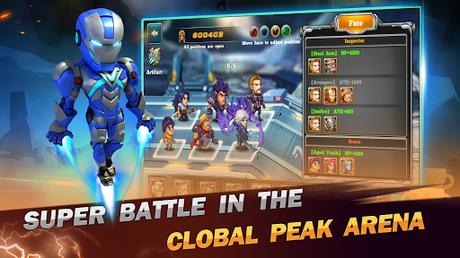 Code Triche Superhero Wars: Epic Idle RPG - Legend Battle  APK MOD (Astuce) 4