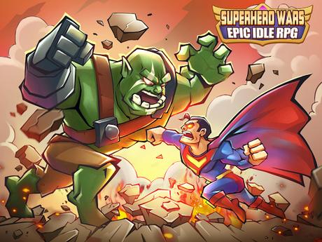 Code Triche Superhero Wars: Epic Idle RPG - Legend Battle  APK MOD (Astuce) 6