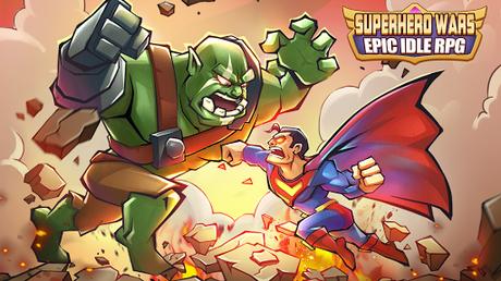 Code Triche Superhero Wars: Epic Idle RPG - Legend Battle  APK MOD (Astuce) 1