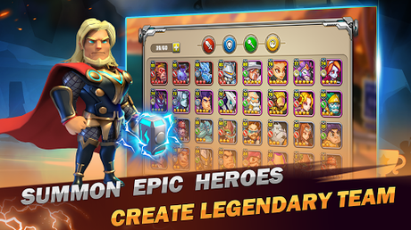 Code Triche Superhero Wars: Epic Idle RPG - Legend Battle  APK MOD (Astuce) 3