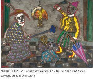 Galerie Teodora « Le chant des souvenirs » André Cervera 6 Mars/14 Avril 2021