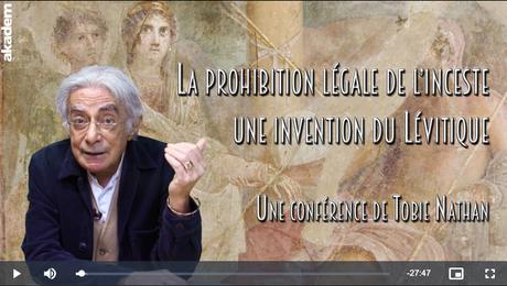 La prohibition légale de l'inceste, une invention du Lévitique