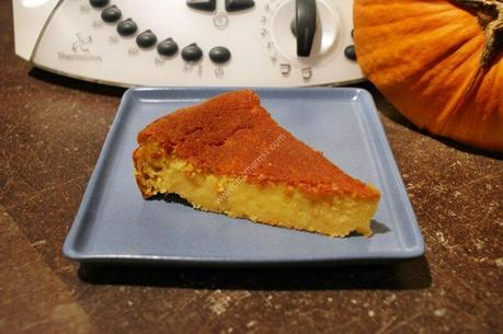 recette du jour: Gâteau au potiron  au thermomix de Vorwerk